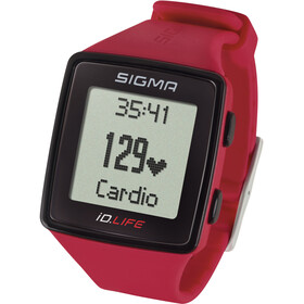 SIGMA SPORT ID.Life Sykemittari, red